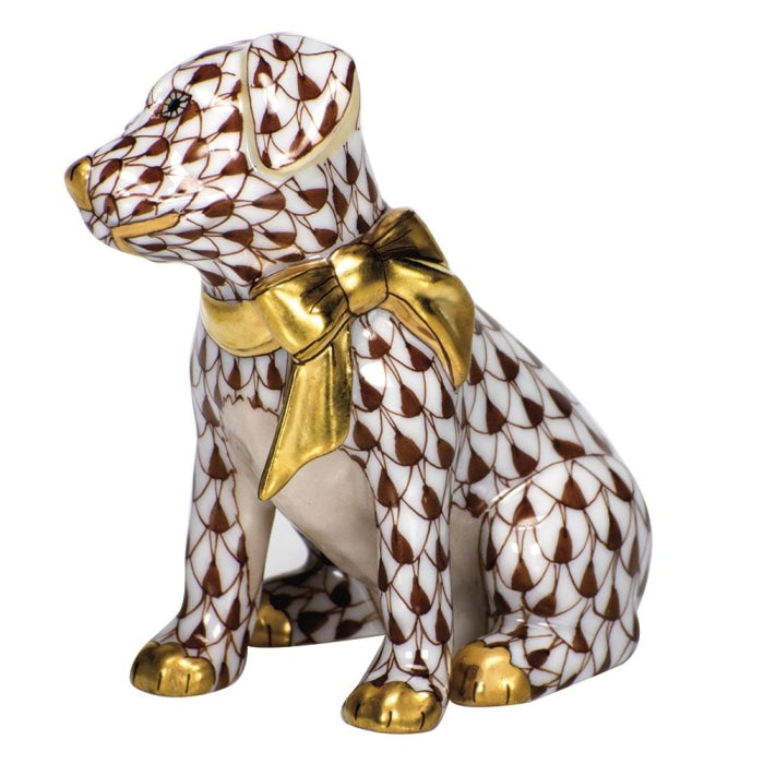 Herend Doggie Dazzle (Chocolate) - HOME & DECOR Boston