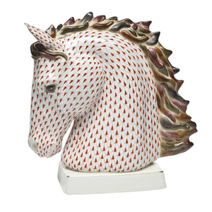 Herend Limited Edition Horse Bust (Multi Color) - Home & Decor Boston