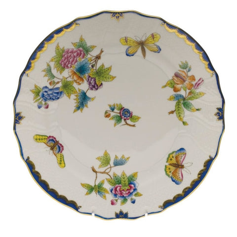 Herend Queen Victotoria W/ Blue Border - Home & Decor Boston