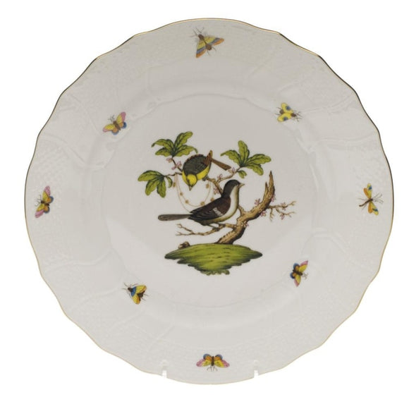 Herend Rothschild Bird W/ Gold Rim - Home & Decor Boston