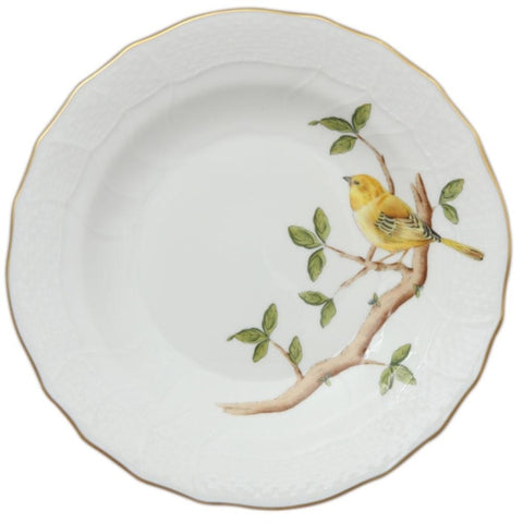 Herend Songbird Dessert Plate - Home & Decor Boston