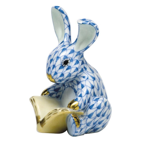 Herend Storybook Bunny (Blue) - Gifts Boston