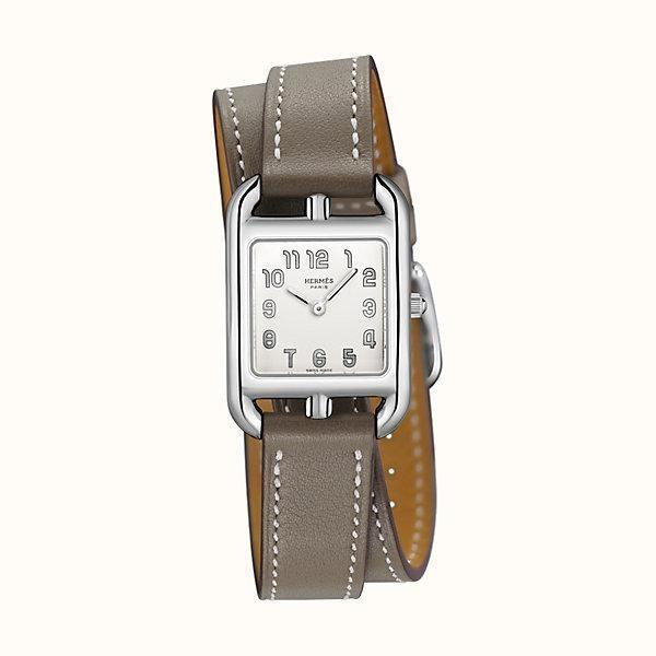 Hermes Cape Cod 24mm Steel Silver Dial - Boston