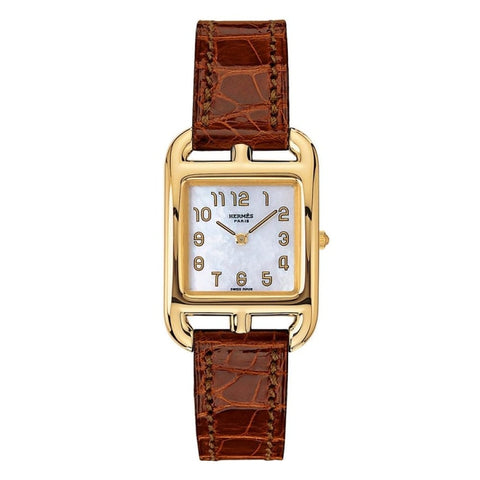Hermes Cape Cod Watch Mother Of Pearl 18K - Watches Boston