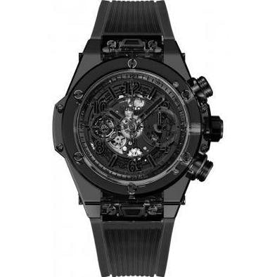 Hublot Big Bang UNICO 45mm Sapphire (411.JB.4901.RT) - WATCHES Boston