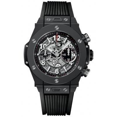 Hublot Big Bang UNICO Black Magic 45mm Ceramic (411.CI.1170.RX) - WATCHES Boston
