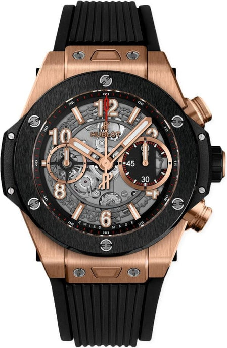 Hublot Big Bang Unico King Gold Ceramic 42mm (441.OM.1180.RX) - WATCHES Boston