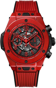 Hublot Big Bang Unico Red Magic Limited Edition 45mm Ceramic/Rubber (Ref#411.CF.8513.RX) - WATCHES Boston