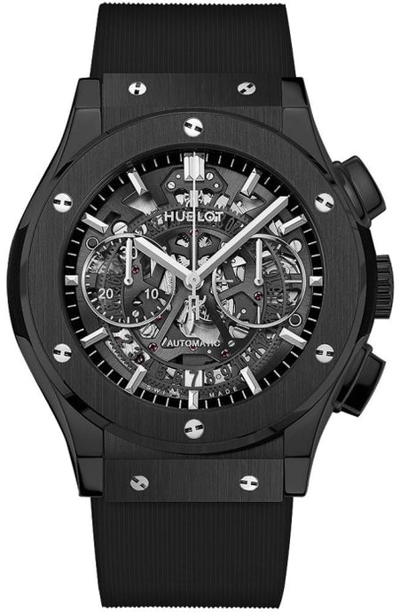 Hublot Classic Fusion Aerofusion Black Magic 45mm (525.CM.0170.RX) - WATCHES Boston