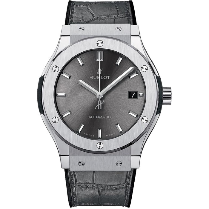 Hublot Classic Fusion Automatic 45mm Titanium (542.NX.7071.LR) - WATCHES Boston