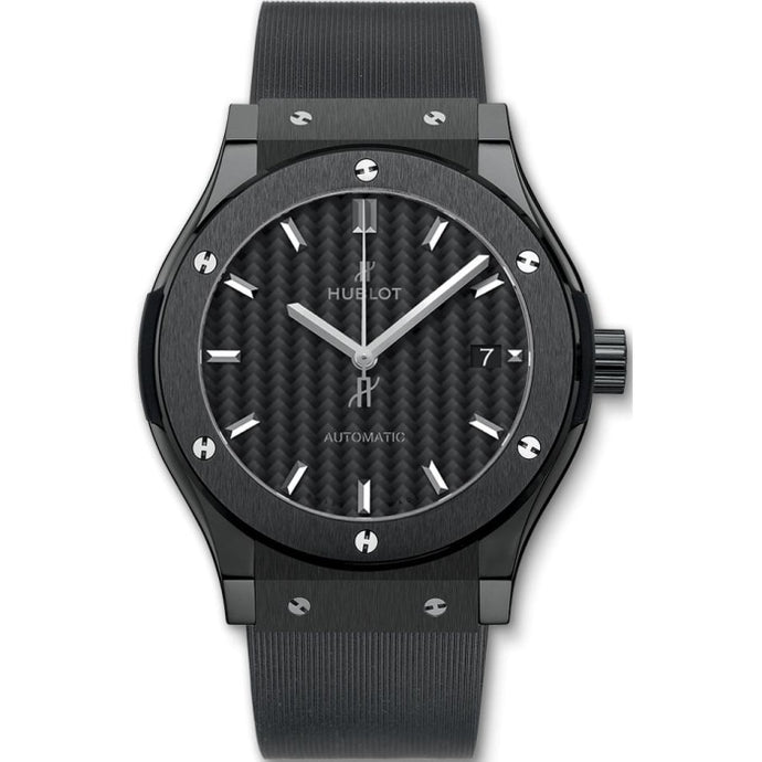 Hublot Classic Fusion Black Magic 45mm Ceramic (511.CM.1771.RX) - WATCHES Boston