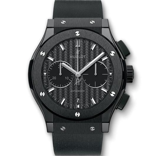 Hublot Classic Fusion Black Magic Chronograph 45mm Ceramic (521.CM.1771.RX) - WATCHES Boston