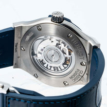 Load image into Gallery viewer, Hublot Classic Fusion Blue Dial Titanium 42mm (542.NX.7170.LR) - Boston