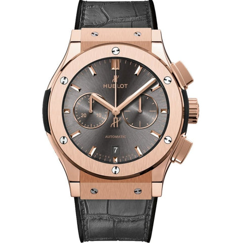 Hublot Classic Fusion Chronograph 42mm 18k Rose Gold (541.OX.7080.LR) - WATCHES Boston