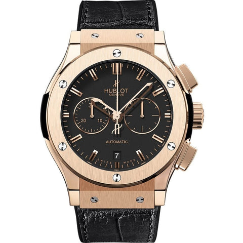 Hublot Classic Fusion Chronograph 45mm 18k Rose Gold (521.OX.1180.LR) - WATCHES Boston