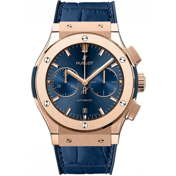 Hublot Classic Fusion Chronograph 45mm 18k Rose Gold (521.OX.7180.LR) - WATCHES Boston