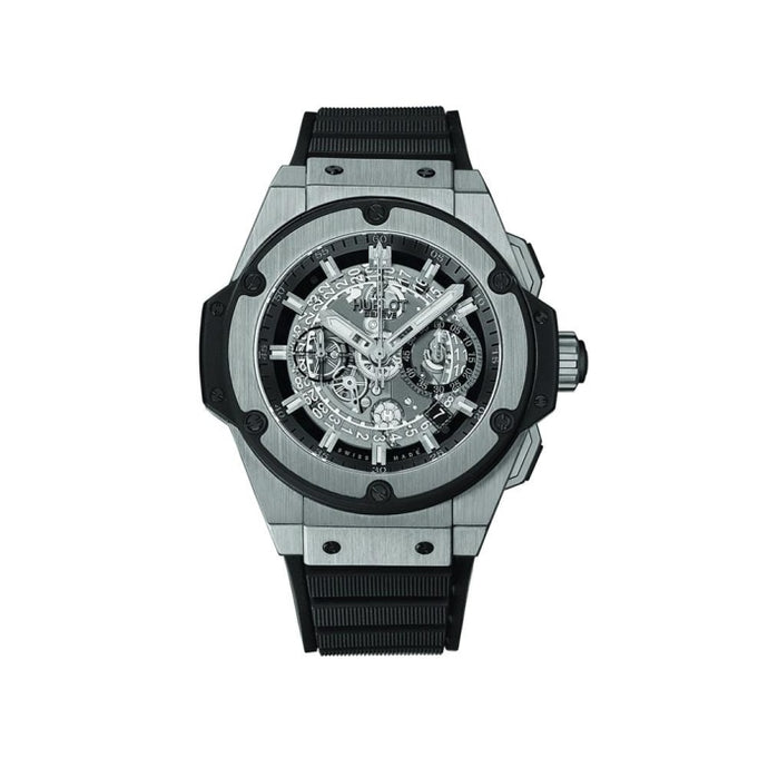 Hublot King Power UNICO Chronograph 48mm Titanium (701.NX.0170.RX) - WATCHES Boston