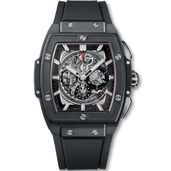 Hublot Spirit of Big Bang Chronograph 45mm Ceramic/Rubber (641.CI.0173.RX) - WATCHES Boston