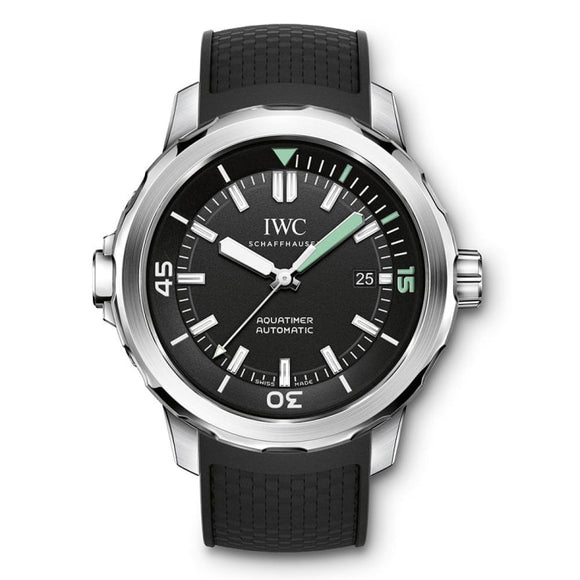 Iwc Aquatimer Automatic 42Mm Stainless Steel (Iw329001) - Watches Boston