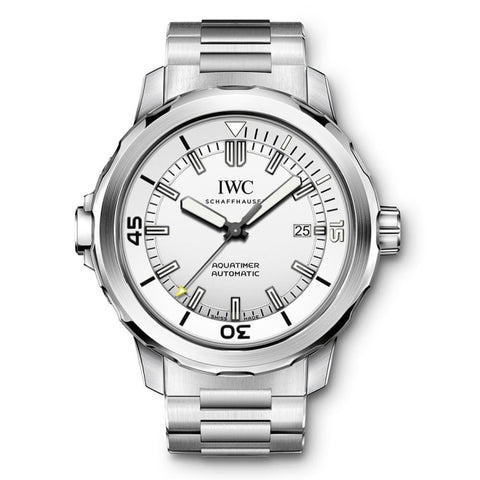 Iwc Aquatimer Automatic 42Mm Stainless Steel (Iw329004) - Watches Boston