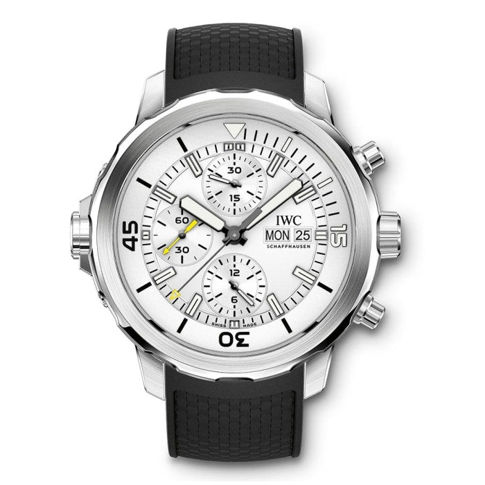 Iwc Aquatimer Chronograph 44Mm Stainless Steel (Iw376801) - Watches Boston