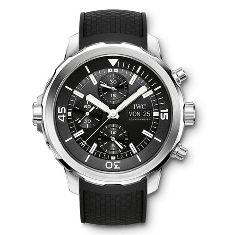 Iwc Aquatimer Chronograph 44Mm Stainless Steel (Iw376803) - Watches Boston