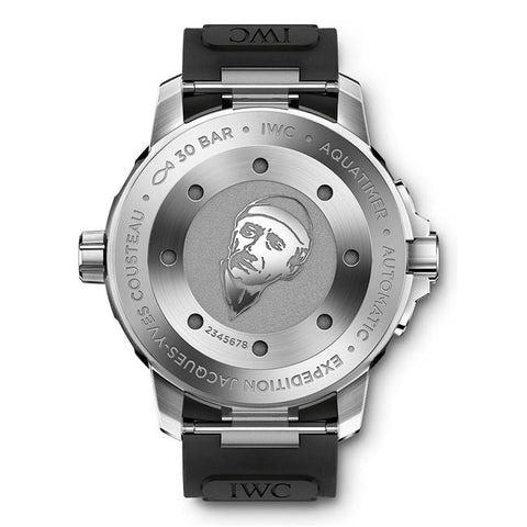 Iwc Aquatimer Expedition Jacques Yves-Cousteau 42Mm Stainless Steel (Iw329005) - Watches Boston