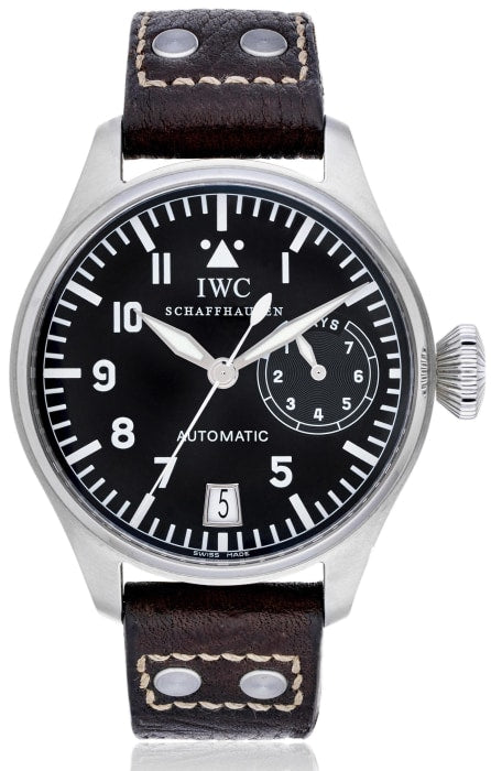 Iwc Big Pilot Die Grosse Fliegeruhr Stainless Steel 46Mm (5002) - Boston