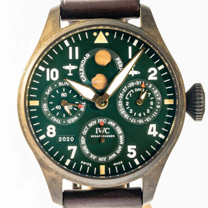 IWC BIG Pilot's Watch Perpetual Calendar Spitfire Bronze 46.2mm (IW503601) - RARE LIMITED EDITION - Boston