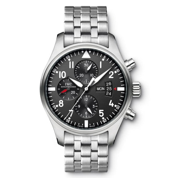 Iwc Pilots Watch Chronograph 43Mm Stainless Steel (Iw377704) - Watches Boston