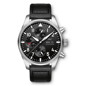 Iwc Pilots Watch Chronograph 43Mm Stainless Steel (Iw377709) - Watches Boston