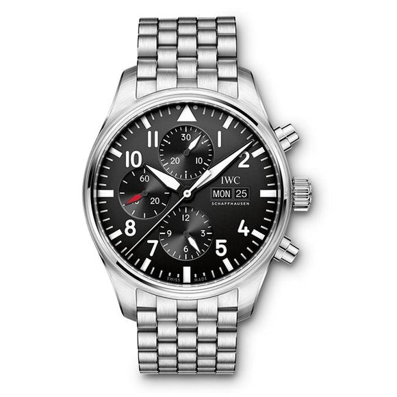 Iwc Pilots Watch Chronograph 43Mm Stainless Steel (Iw377710) - Watches Boston