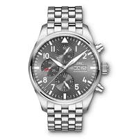 Iwc Pilots Watch Chronograph Spitfire 43Mm Stainless Steel (Iw377719) - Watches Boston