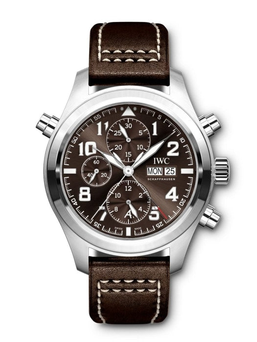 Iwc Pilots Watch Double Chronograph Edition Antoine De Saint Exupéry 44Mm Stainless Steel (Iw371808) - Watches Boston