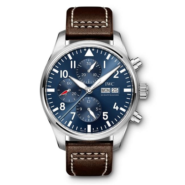 Iwc Pilots Watch Le Petit Prince Chronograph 43Mm Stainless Steel (Iw377714) - Watches Boston