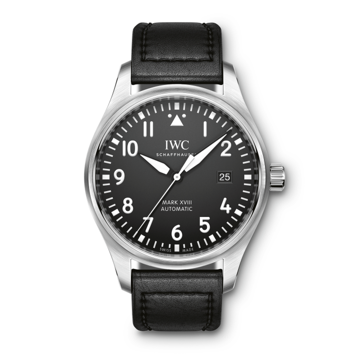 Iwc Pilots Watch Mark Xviii 40Mm Stainless Steel (Iw327009) - Watches Boston