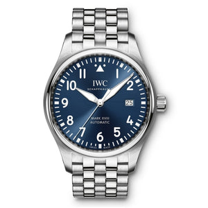 Iwc Pilots Watch Mark Xviii Le Petit Prince 40Mm Stainless Steel (Iw327014) - Watches Boston