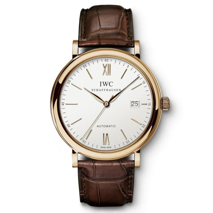 Iwc Portofino 40Mm Rose Gold (Iw356504) - Watches Boston