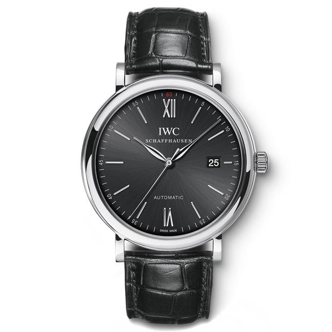 Iwc Portofino 40Mm Stainless Steel (Iw356502) - Watches Boston