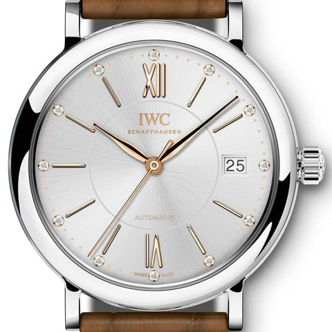 Iwc Portofino Automatic 37 Stainless Steel 37Mm (Iw458101) - Watches Boston