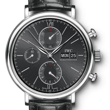 Load image into Gallery viewer, Iwc Portofino Chronograph 42Mm Stainless Steel (Iw391008) - Watches Boston