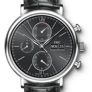 Iwc Portofino Chronograph 42Mm Stainless Steel (Iw391008) - Watches Boston