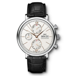 Iwc Portofino Chronograph 42Mm Stainless Steel (Iw391022) - Watches Boston