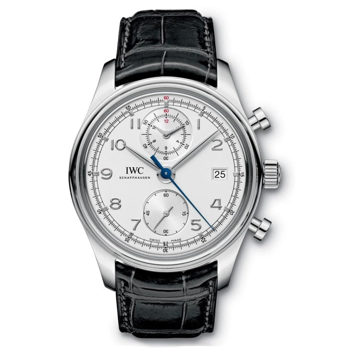 Iwc Portugeiser Chronograph Classic 42Mm Stainless Steel (Iw390403) - Watches Boston