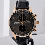 IWC Portugeiser Chronograph Rose Gold 41mm (IW371482) - Boston