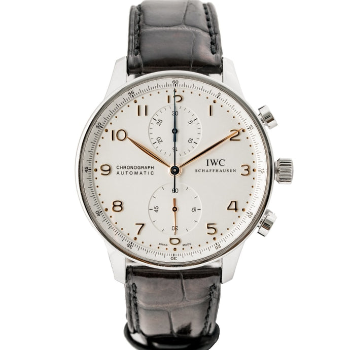 IWC Portugeiser Chronograph Stainless Steel 41mm (IW371445) - Boston