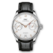Load image into Gallery viewer, Iwc Portugieser Automatic 7 Day 42.3Mm Stainless Steel (Iw500704) - Watches Boston