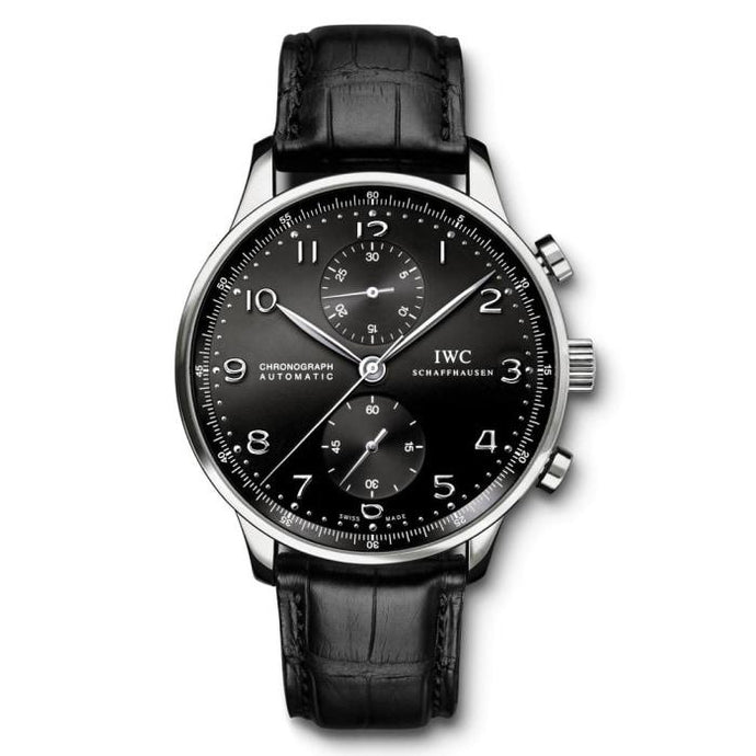 Iwc Portugieser Chronograph 40.9Mm Stainless Steel (Iw371447) - Watches Boston