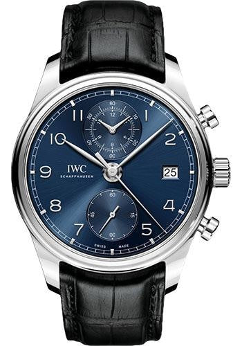 Iwc Portugieser Chronograph Classic Stainless Steel (Iw390303) - Watches Boston