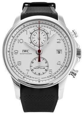 Iwc Portugieser Yacht Club Chronograph Stainless Steel (Iw390502) - Watches Boston